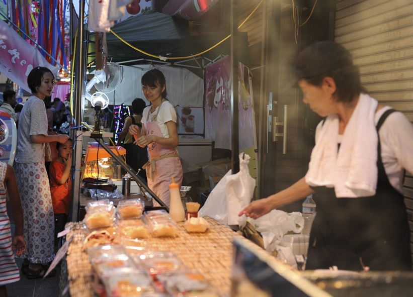 giappone street food