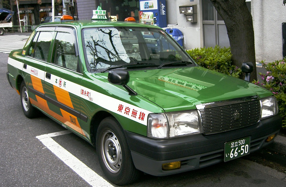 giappone tokyo taxi